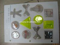 Custom OEM Cheap Pet reflective tag dangler reflex hanger