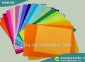 high end cor sólida papel de seda