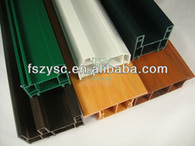 Approve Three certifications pvc profile windows Qualified to Exported to India