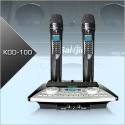 Karaoke System(Portable Karaoke Microphone with inbuilt songs)(KOD-100+SJ-100