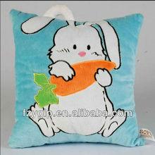 3D plush animal stuffed pillows, baby plush throw cushions