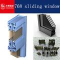 768 سلسلة الالومنيوم الانزلاق النافذة والباب الإطار فى قوانغدونغ