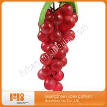 OEM green artificial grape, fake grape bunch, artificial fruit ornament