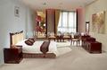 Moderno hotel fabricante de muebles/del medio ambiente rústico de madera de madera mueblesdelhotel/dormitorio de estilo barroco r017