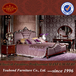 2014 Italy classic bedroom furniture YB07