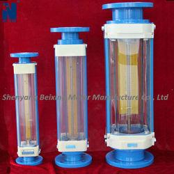 LZB glass tube chemical ,variable area flow meter /rotameter