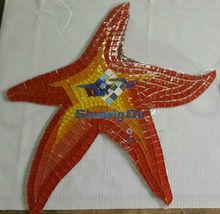 foshan supplier glass mosaic art pattern