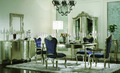 ホテルの家具/優雅な純木家具/ヨーロピアンスタイルのロングgd-a8050-1ダイニングテーブルセット