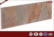 Slate Marble Design Porcelain Tile with 3D Inkjet Panel 300X900X18mm