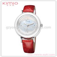 China Kimio stone dial beautiful ladies jeweled watch