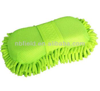 Chenille car wash sponge pad FM5059