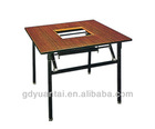 Practical Square Banquet Restaurant Hot Pot Table YF-019