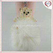 Assorted Stuffed Animals Plush Keychain For Halloween