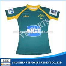 American college sportswear custom team rugby jerseys wear