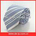 fornecedor da fábrica de gravatas para os homens azul tira de impressão atacado gravata