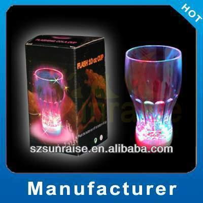 Flashing LED glass, LED lighting tumbler, Blinking flashing cola cups