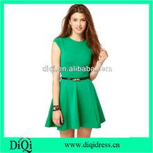 OEM latest fashion beautiful women new dresses wholesale ladies women clothing skater dresses