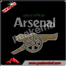 Iron on motif Arsenal Transfer Custom designs
