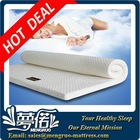 wholesale good quality vacuum compress roll foam topper