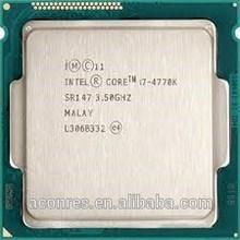 CPU Processor Intel i7 4770K 8M Brand New cpu