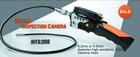 Inspection Camera, Endoscope Camera,Wireless 720P HD Inspection Camera with 3.5 Inch Detachable LCD Color DVR Monitor