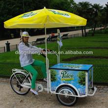 three wheel electric fashion ice cream bike