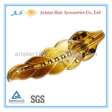 clear plastic hairpins for kids/Artstar shiny hair clip