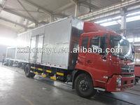 15-20tons Dongfeng Aluminum Van cargo Box Lorry Truck/dry cargo box truck van