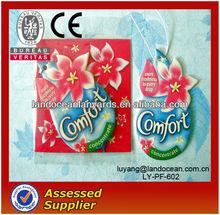 Wholesale Cotton Paper Car Air Freshener