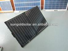 black frame 120w18V folding solar pv panel