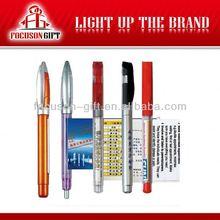 Custom logo pull out banner pen