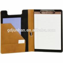 A4 leather fashion portfolio case