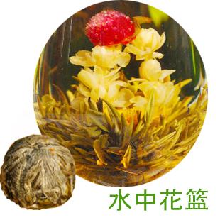 Strawberry Flavor Blooming Tea,Flower Tea Ball,Fruit Flavor