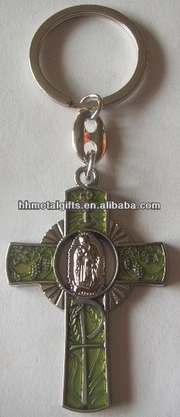 Hot religious custom key chain/key chain custom/key chains metals