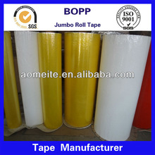 china supplier bopp tape jumbo roll/acrylic tape