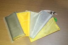 2014 NEW Arrival Zipper & drawstring Closure travel storage bags
