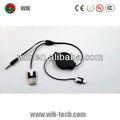 double couleur usb mini câble usb au câble rca