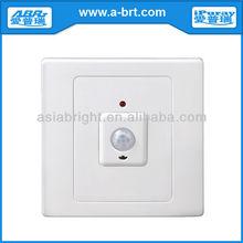 PIR Motion Sensor Adjustable Light Switch with Emergency Override 220V