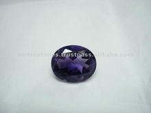 Amethyst AAA grade oval cut loose gemstones