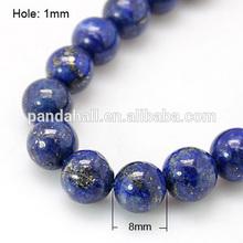 Impressionante naturale lapislazzuli perle fili, 8mm lapislazzuli pietra grezza(g- g087- 8mm)