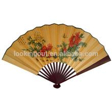 paypal custom made beautiful designed paper hand fan folding