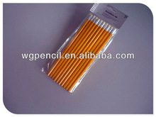 wooden HB pencil with top and logo, promotional item