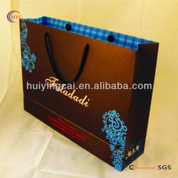 garment printed paper shopping bags luxury print paper bag