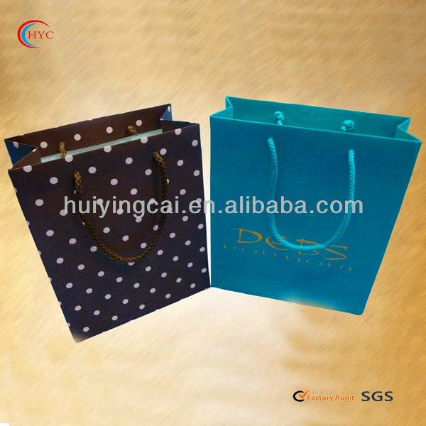 wholesale various style paper bag good print paper bag