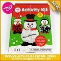 Bricolaje de navidad títeres/marionetas hilados de arte para niños
