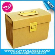 brown color kraft paper file folder - for packing document