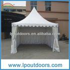 New design Pagoda tent--metal tent zipper