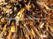 Vietnam split cassia / cinnamon - thin split cassia, high oil content, reddish color