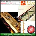 Xy-(12) 0186 ouro cor interior corrimão da escada corrimão