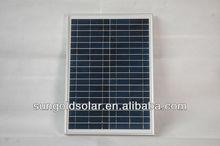 Small 20 watt solar panel for 12v battery
